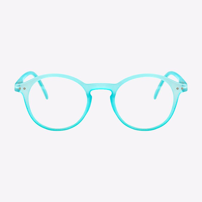 Gafas de lectura Electra azul fluor