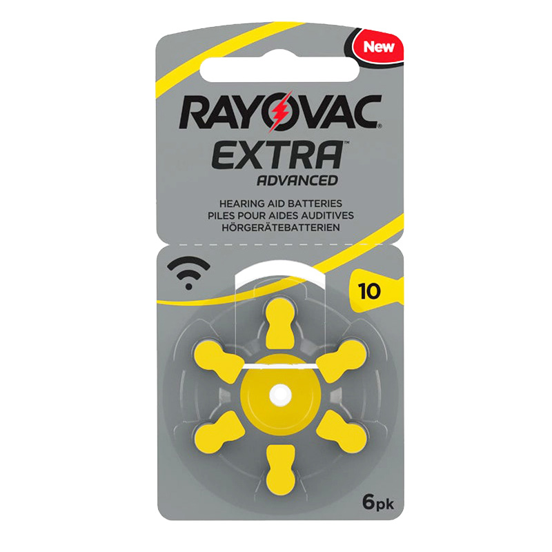 Pilas Rayovac extra 10